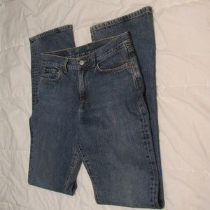 LUCKY BRAND DUNGARIES BY GENE MONTESANO SIZE 8/29